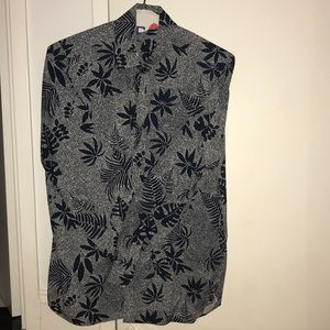 Ted Baker men's long sleeve button down.